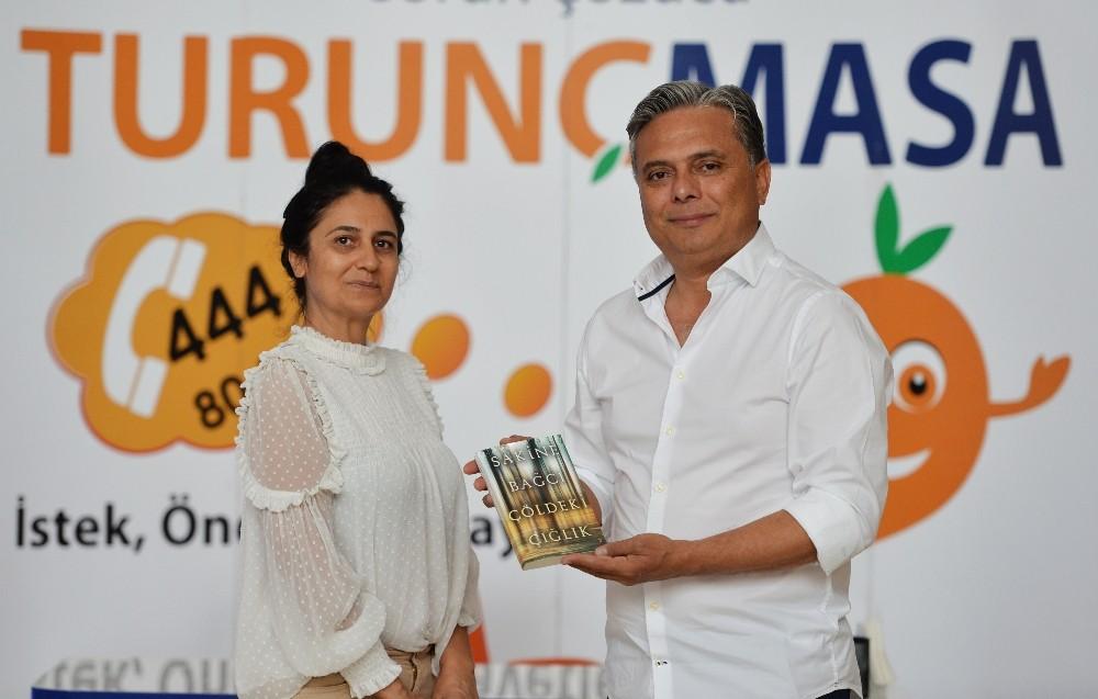 Yazar Bağcı Başkan Uysal'ı ziyaret etti