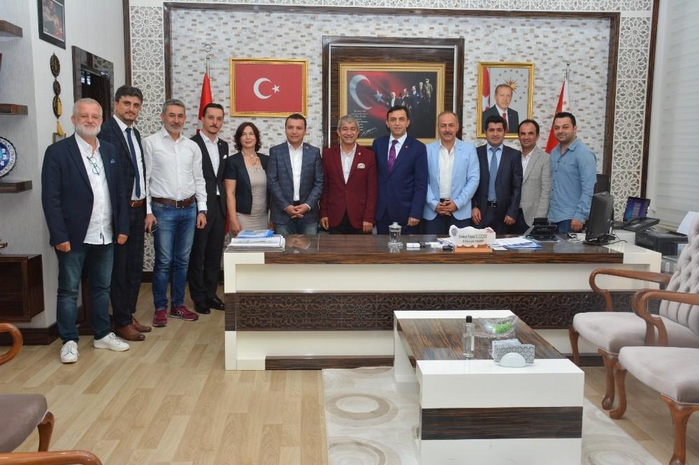 AGC'den Emniyet Müdürü Ulucan'a ziyaret