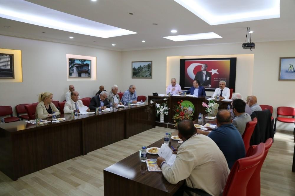 Akseki Belediye Ekim Ayı Meclisi toplantı