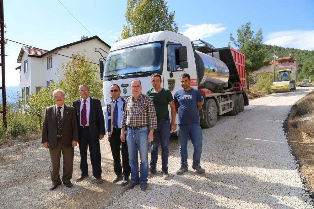 Akseki Belediyesi kombine satıh kaplama aracı aldı