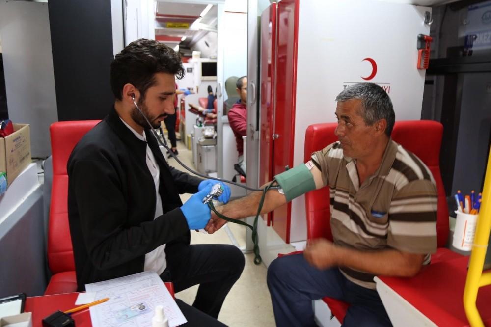 Akseki'de Kan Bağışı