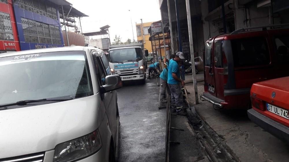 Alanya Belediyesi'nden yağış önlemi