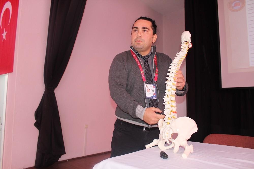Alanya'da omurga sağlığı taramaları devam ediyor
