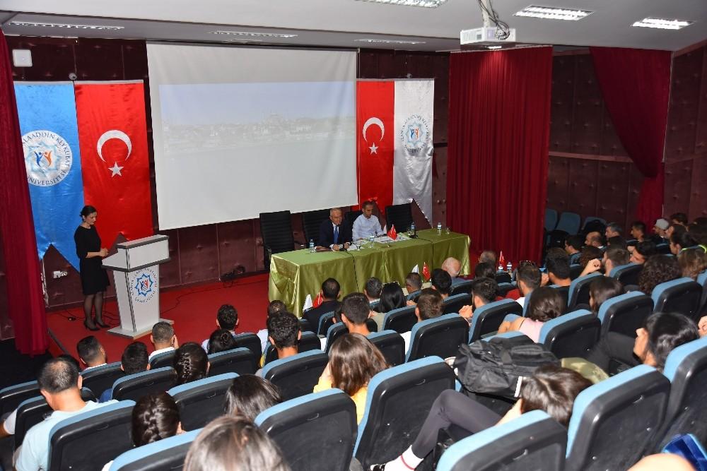 ALKÜ'de Müftüoğlu ile spor söyleşisi