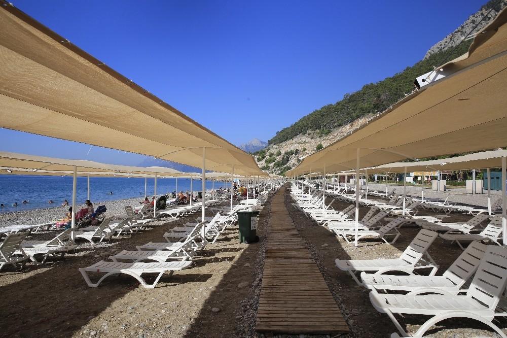 Antalya Kadınlar Plajı rekor tazeledi
