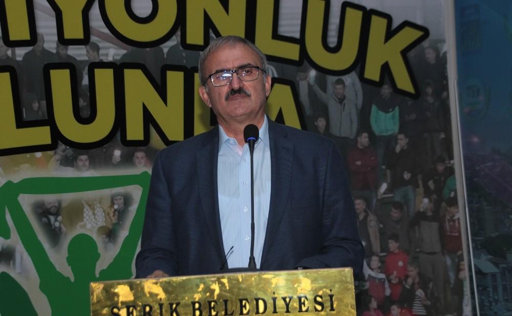 Antalya Valisi Karaloğlu, Serik'te İstişare Toplantısı düzenlendi