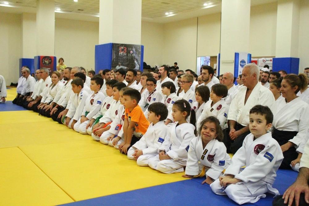 Antalya'da aikido semineri yapıldı