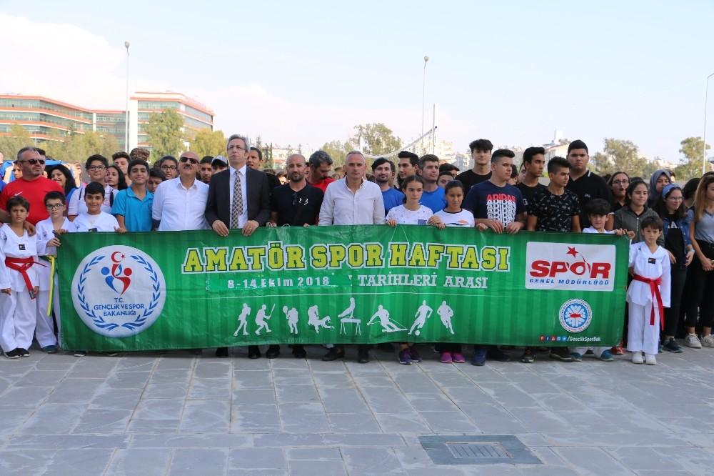 Antalya'da Amatör Spor Haftası Başladı