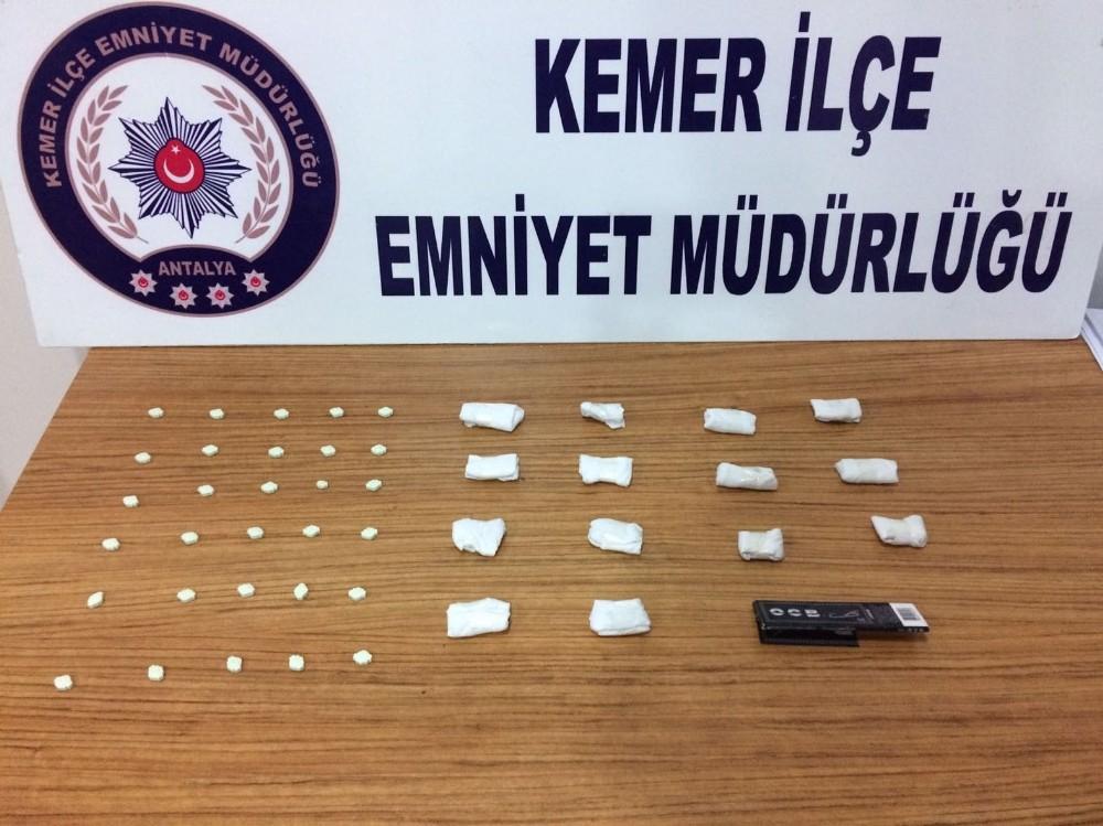 Antalya'da genetiğiyle oynanarak ölümcül derecede etkisi artırılmış uyuşturucu ele geçirildi