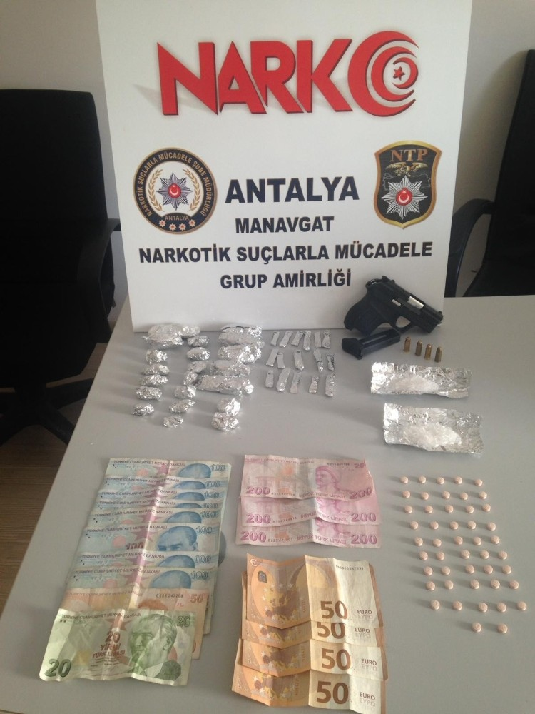 Antalya'da uyuşturucu operasyonu: 1 tutuklama