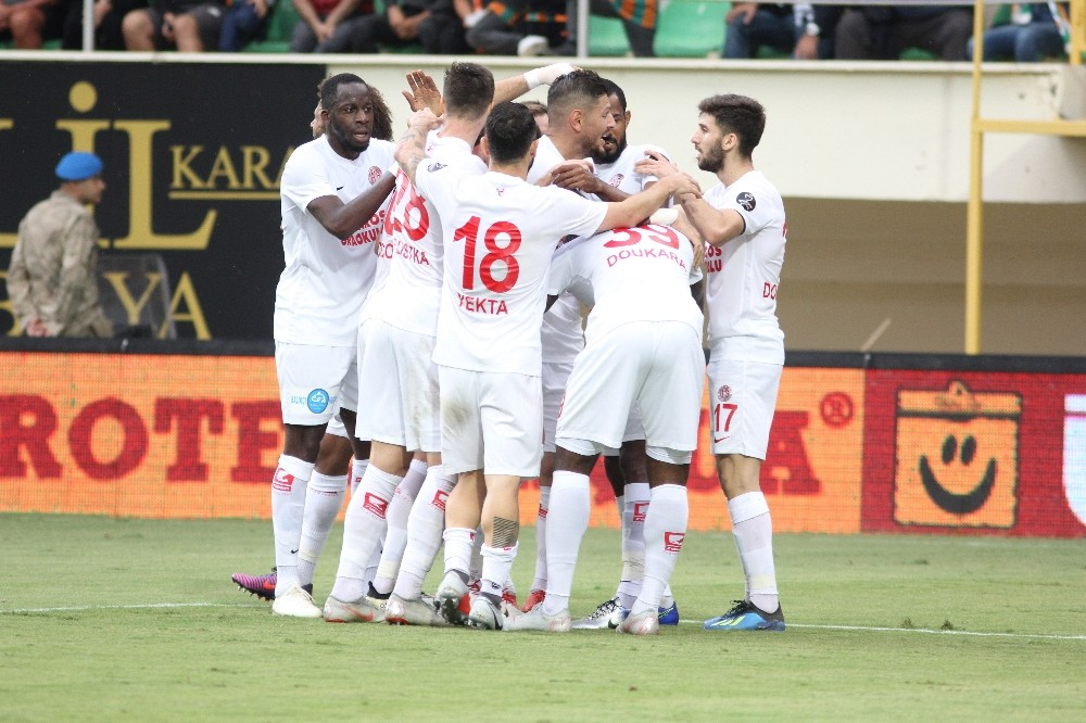 Antalyaspor'da hedef Avrupa Ligi