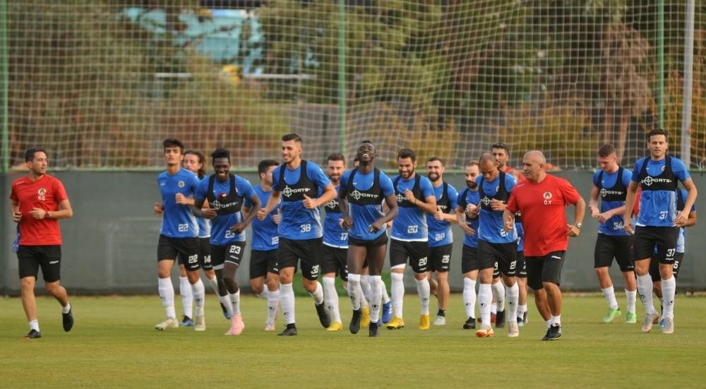 Aytemiz Alanyaspor'da Antalyaspor maçı hazırlıkları