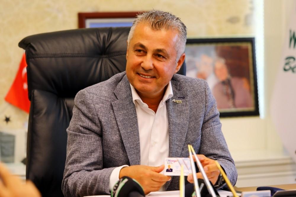Başkan Sözen, Manavgat kartı tanıttı