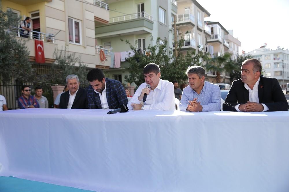 Başkan Türel, Düdenbaşı Mahallesi sakinleri ile buluştu