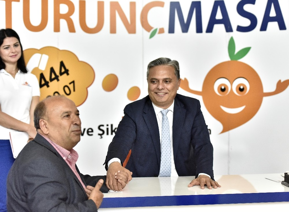 Başkan Uysal, Turunç Masa'da