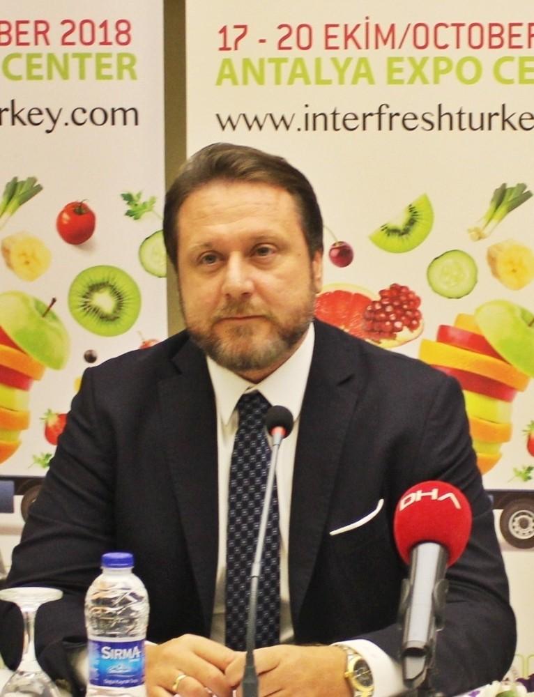 Dünya yaş meyve sebze sektörünün gözü Antalya'da
