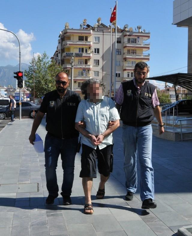 FETÖ'den aranan eski emniyet müdürü Alanya'da yakalandı