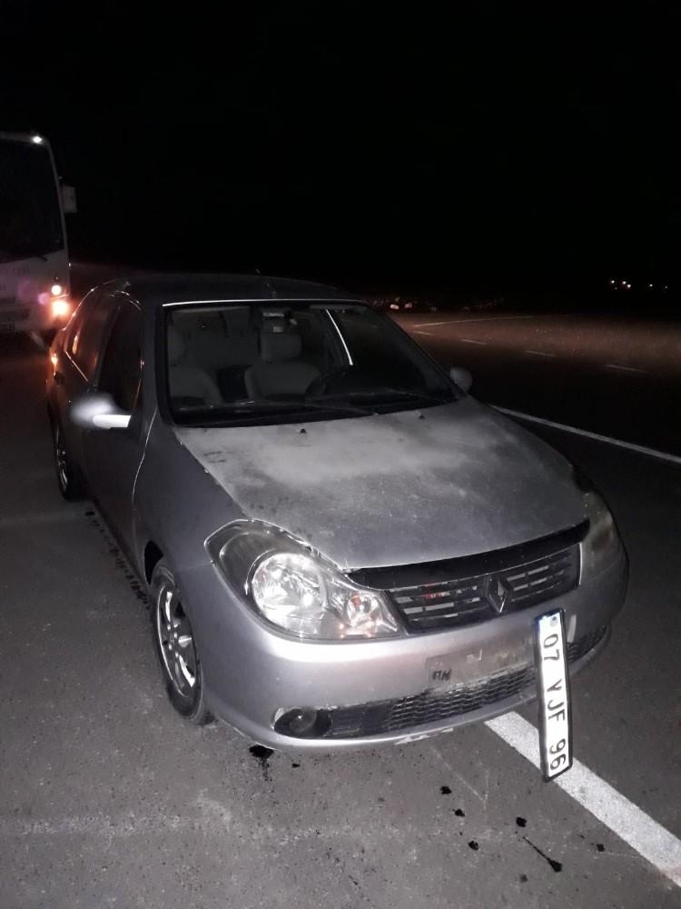 Finike Belediyespor yönetimi kaza geçirdi