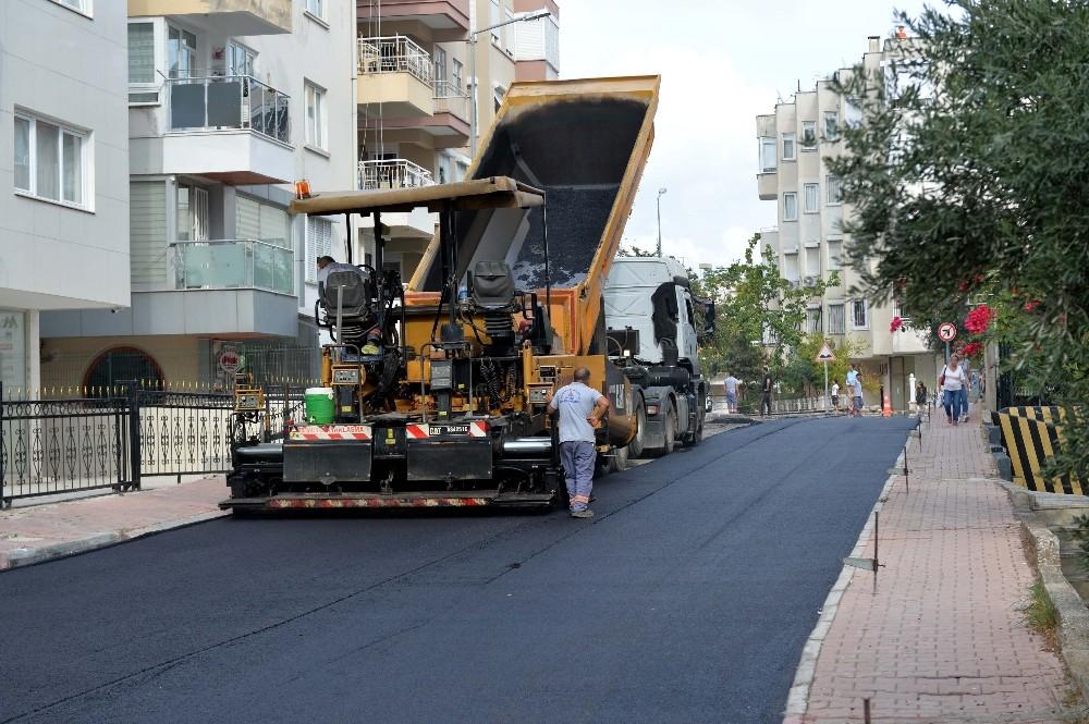 Gençlik Mahallesi'nde asfalt çalışmaları başladı