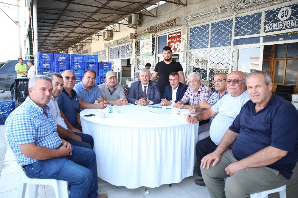 Hal Esnafından Serik Belediyespor'a destek