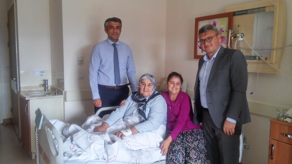 Hastane yönetimi yaşlıları unutmadı