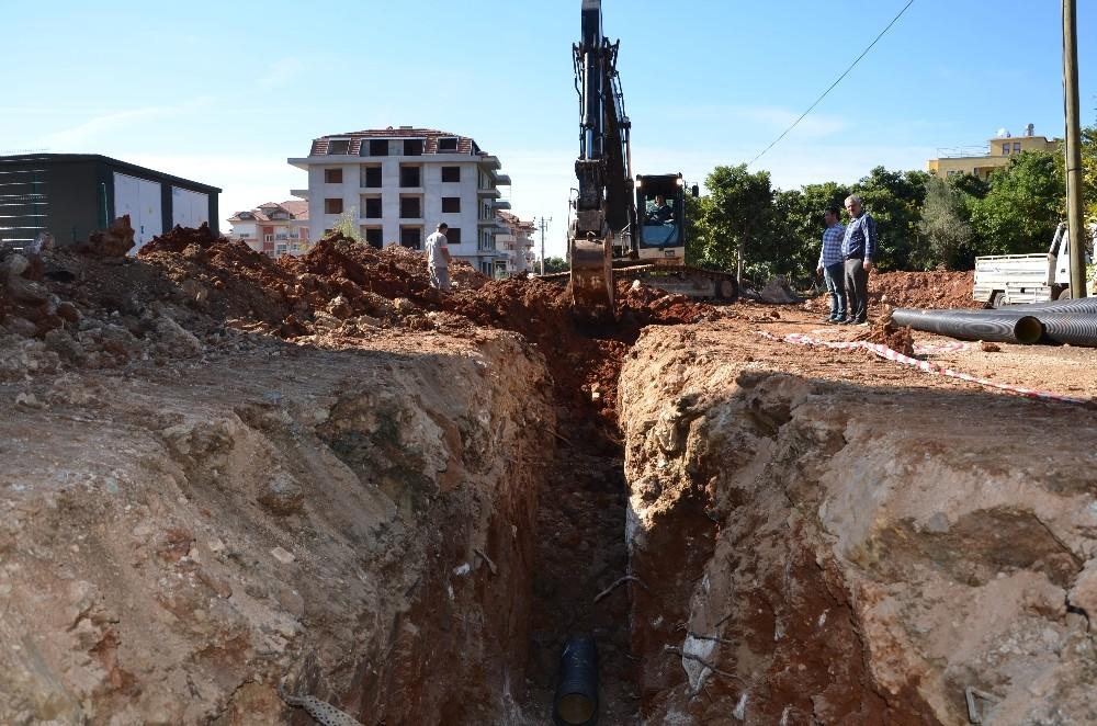 Karakocalı ve Hacımehmetli'ye kanalizasyon