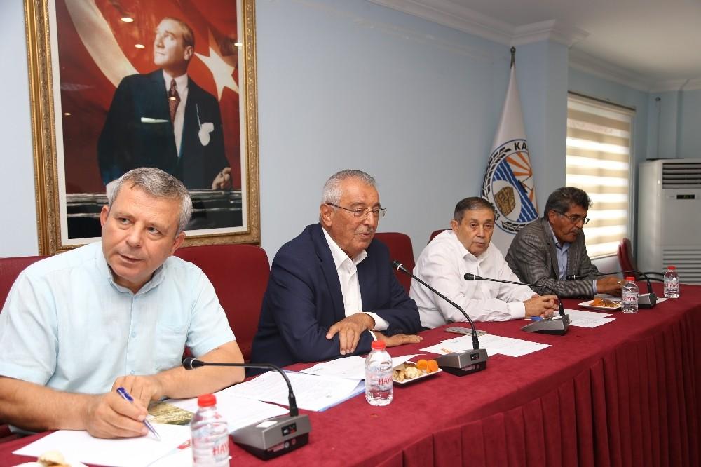 Kaş Belediye Meclisi Toplandı
