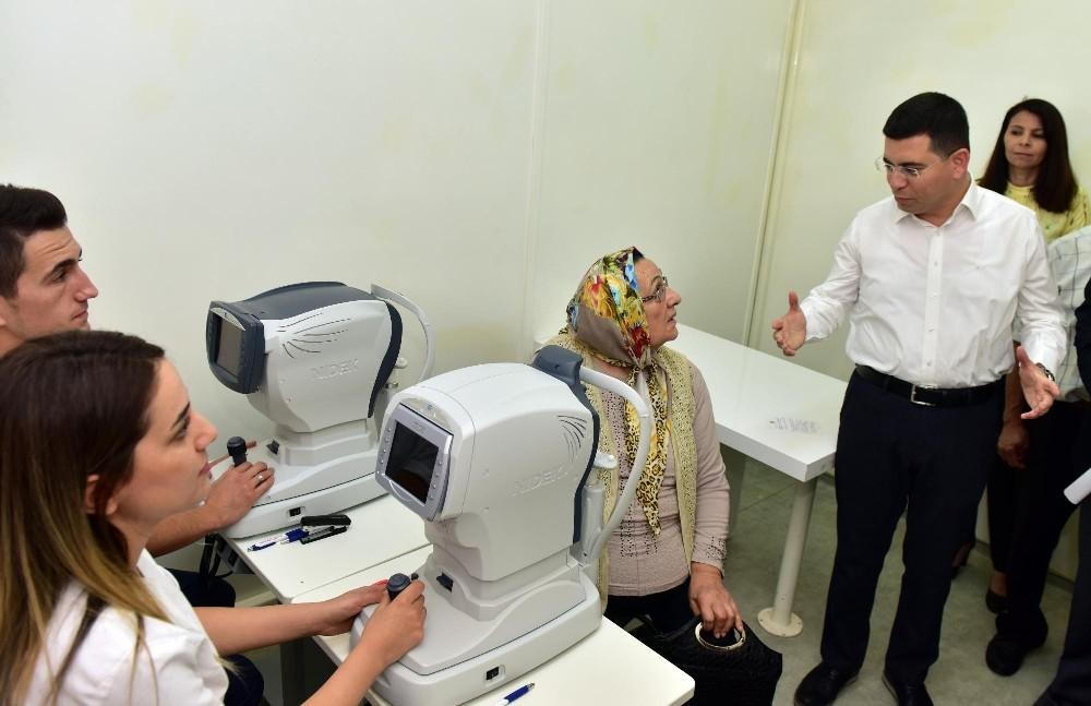 Kepez'den sınırsız sağlık hizmeti