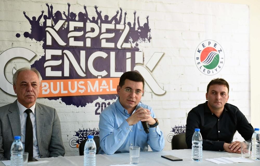 Kepez'den spor alt yapısına destek