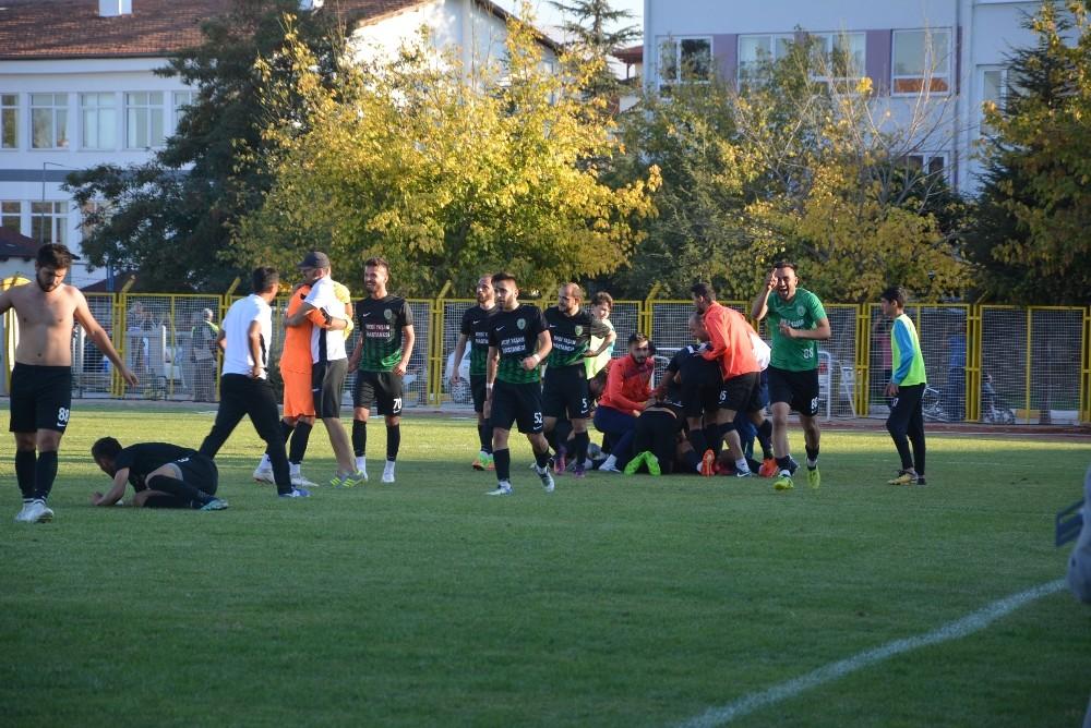 Korkuteli Belediyespor son dakika golü İle güldü: 4:3
