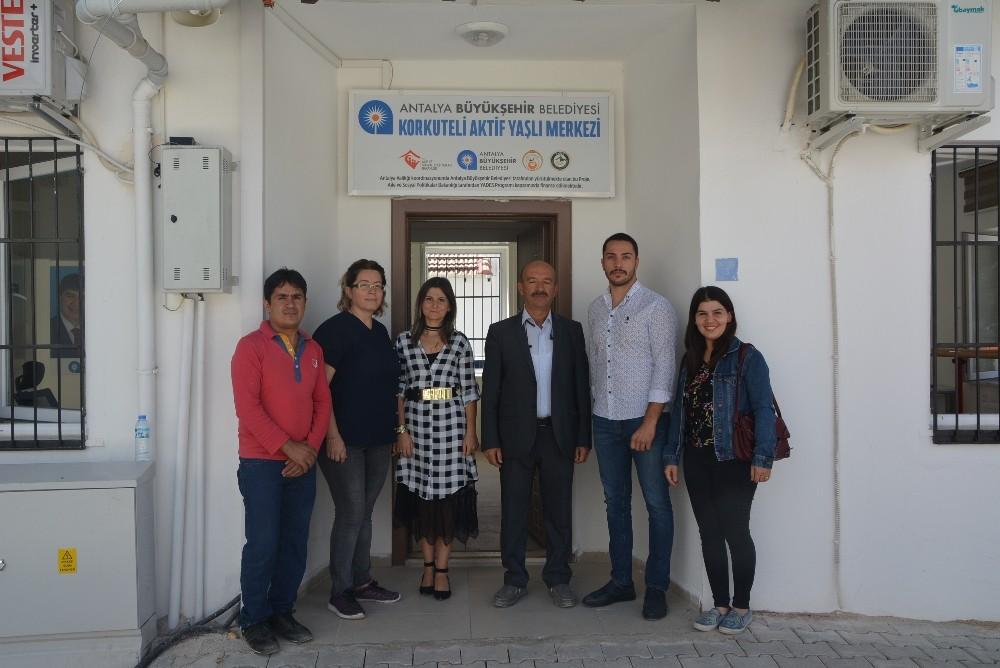 Korkuteli'nde Aktif Yaşlı Hizmet Merkezi açıldı