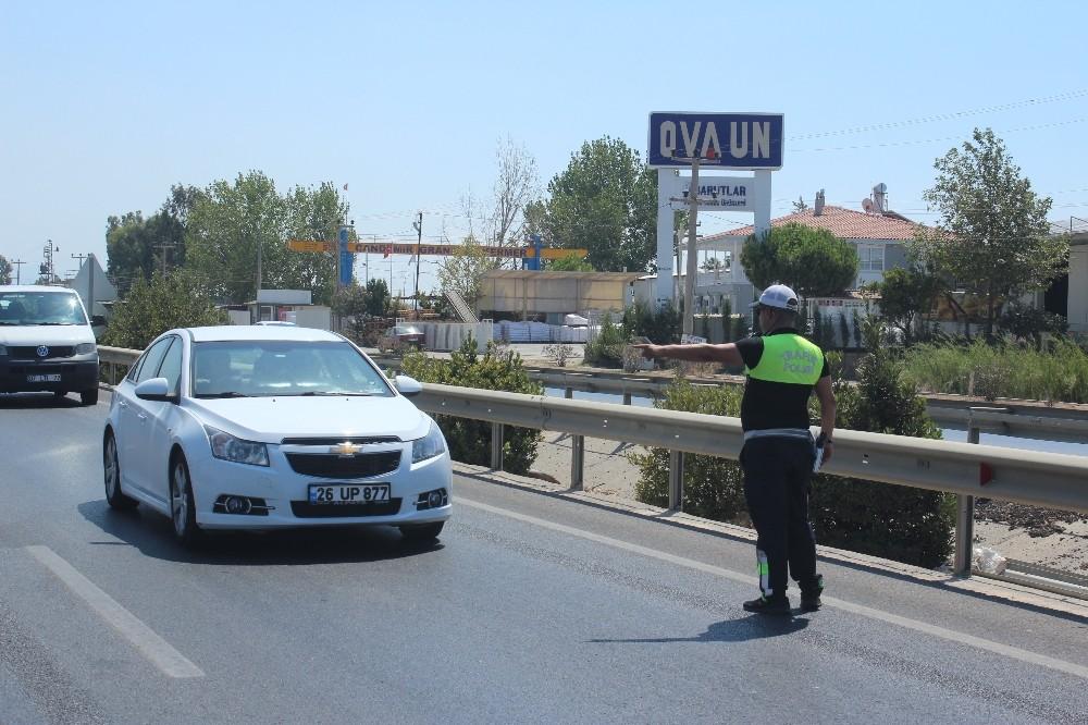 Manavgat'ta 9 ayda bin 60 araç trafikten men edildi