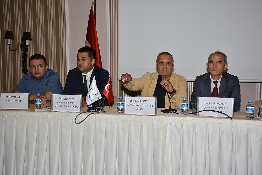 Manavgat'ta 'Sıfır Atık Projesi' bilgilendirme toplantısı yapıldı