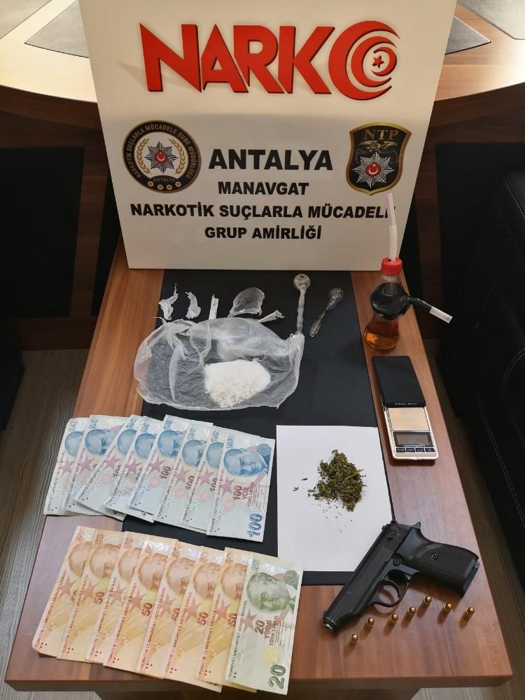 Manavgat'ta uyuşturucu operasyonu: 1 tutuklama
