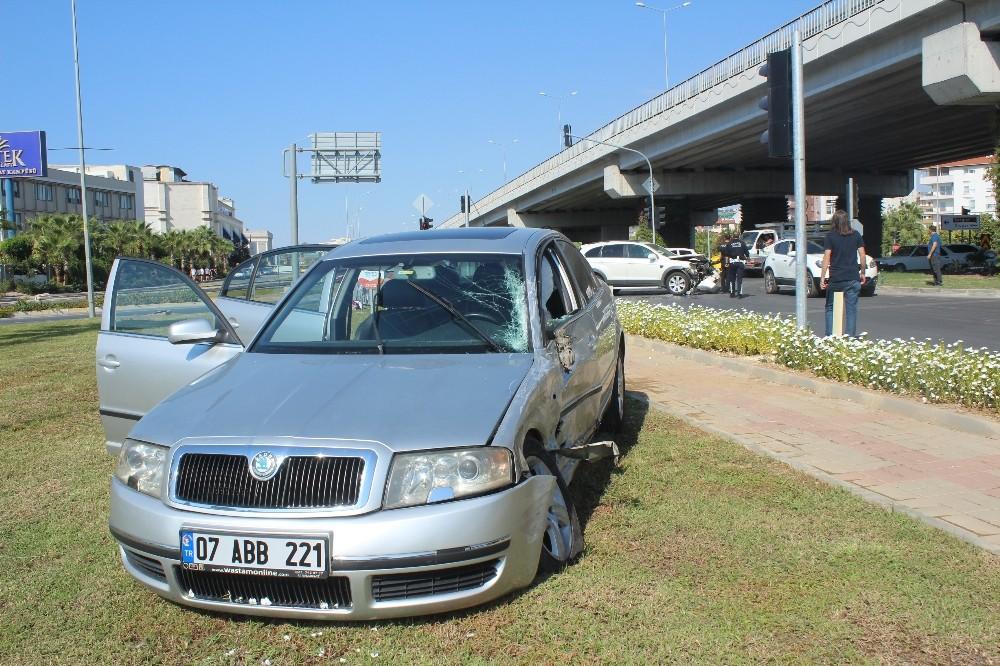 Manavgat'taki kaza ucuz atlatıldı