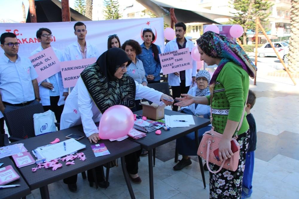 Öğrencilerin halk ile ilk buluşması gerçekleşti