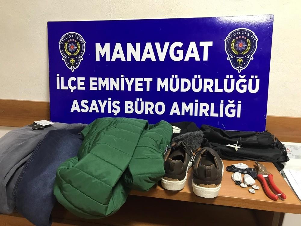 Özbek hırsızlık zanlısı yakalandı