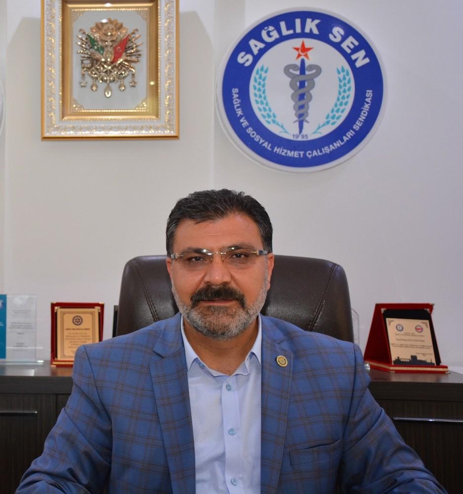 Sağlık Sen Antalya Şube Başkanı Kuluöztürk'ten 'milli birlik' mesajı