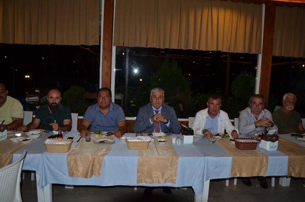 Serik Belediyespor'lu futbolculara moral ve motivasyon