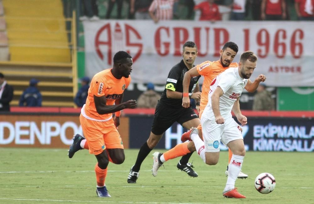 Spor Toto Süper Lig: Alanyaspor: 0 – Antalyaspor: 1 (Maç sonucu)
