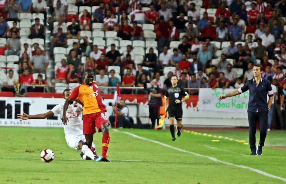 Spor Toto Süper Lig: Antalyaspor: 0 Galatasaray: 0 (İlk yarı)