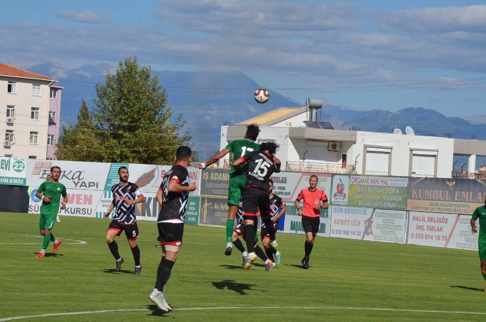 TFF 3. Lig 3 Grup: Serik Belediyespor: 1 – Çorumspor: 0