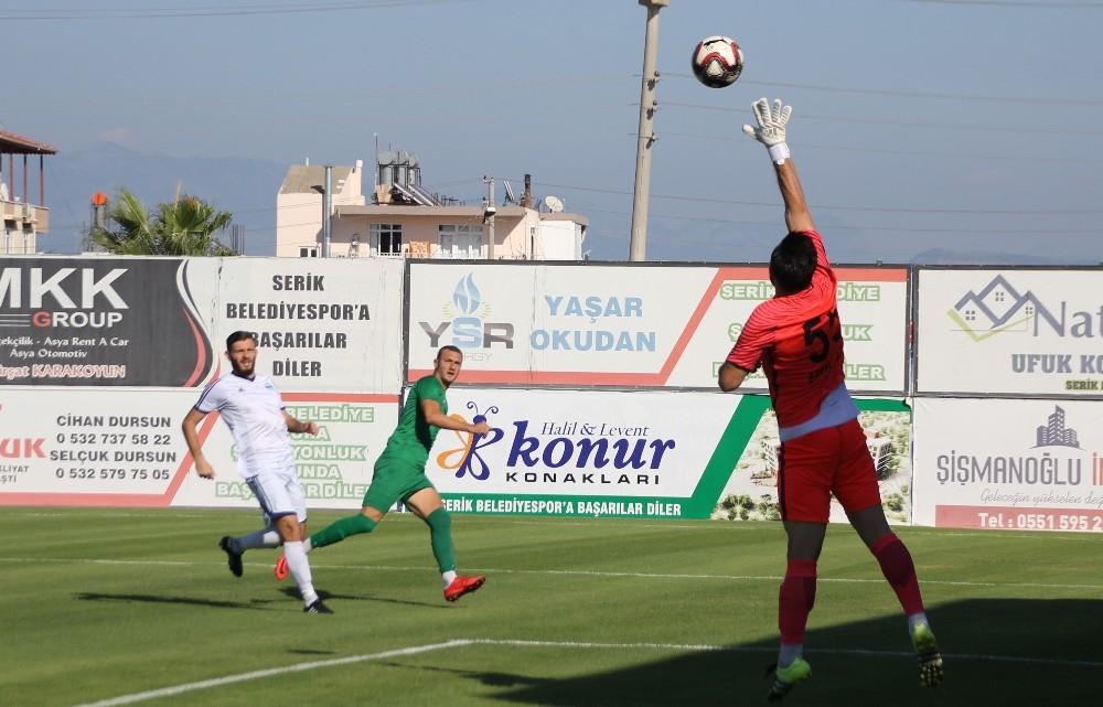 TFF 3.lig: Serik Belediyespor: 2- Anadolu Bağcılar Spor: 1