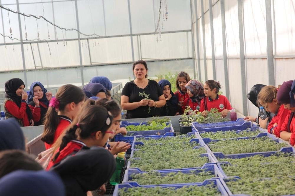 'Yeşeren çocuklar' projesi 45 çocukla start aldı