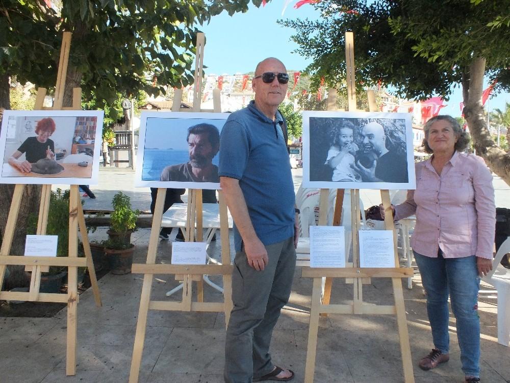 Yıldız Kalkan'dan 'Kaş'ın bilim, kültür, sanat insanları' sergisi