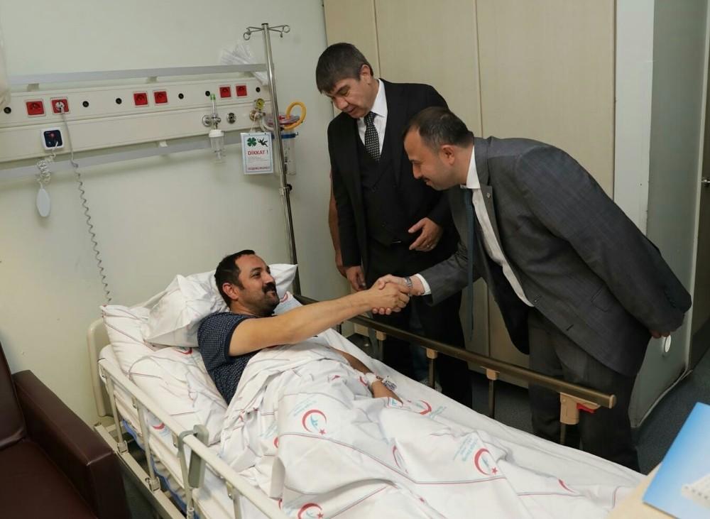 AK Parti Antalya eski İl Başkanı Sümer anjiyo oldu