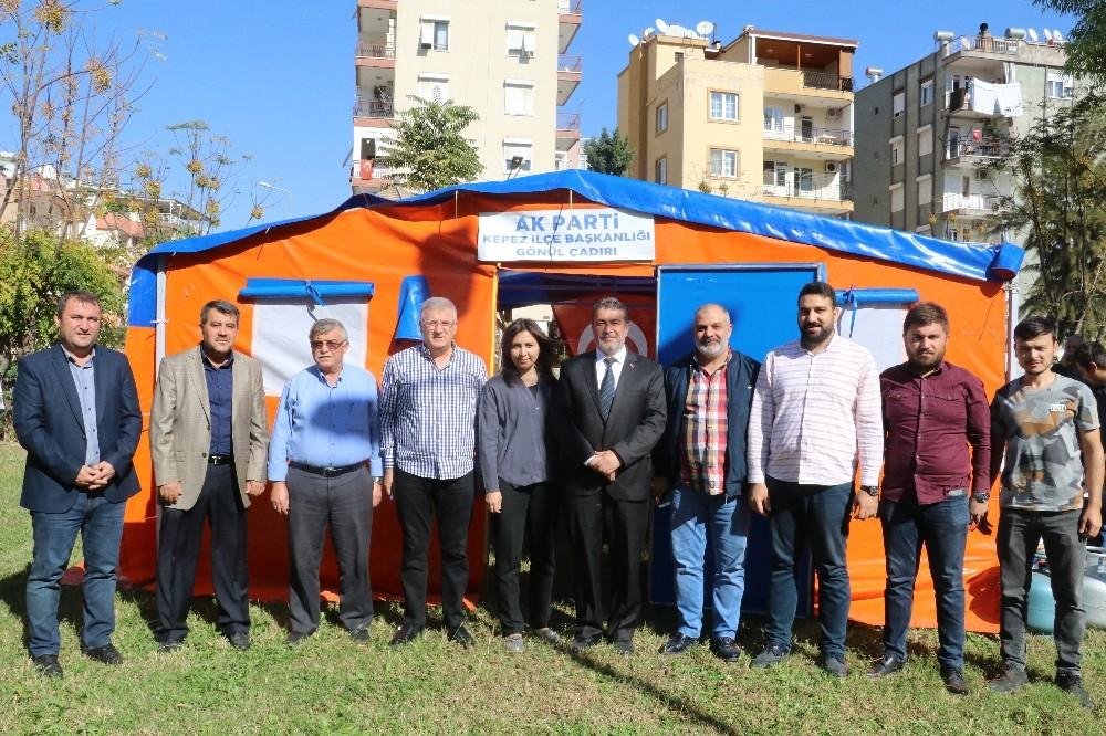 AK Parti'den Kepez'de 'Gönül Çadırı'