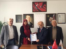 Akseki'de Belediye Meclis Üyeliğinde ilk başvuruyu kadın aday adayı yaptı