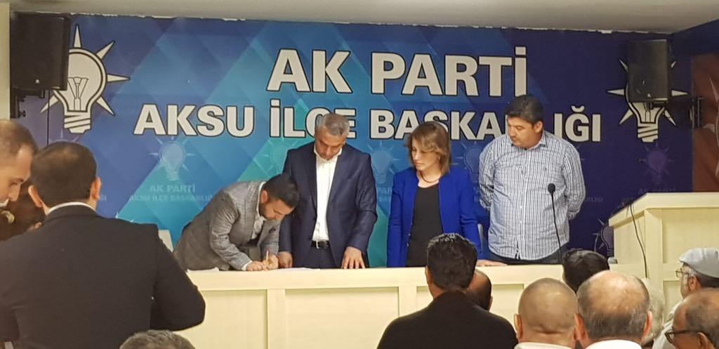 Aksu'da Genç Ak Parti Belediye Başkan Aday Adayı