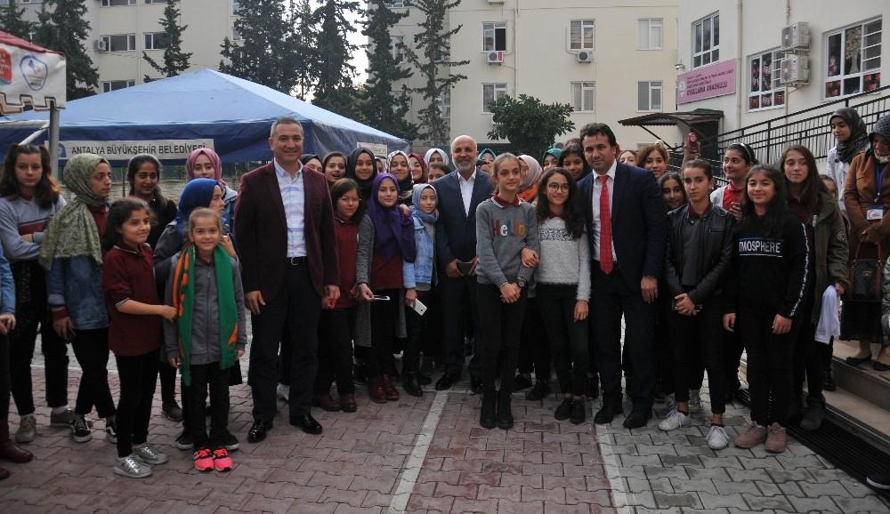 'Alanyaspor'um Okulumda' projesinde 17. buluşma
